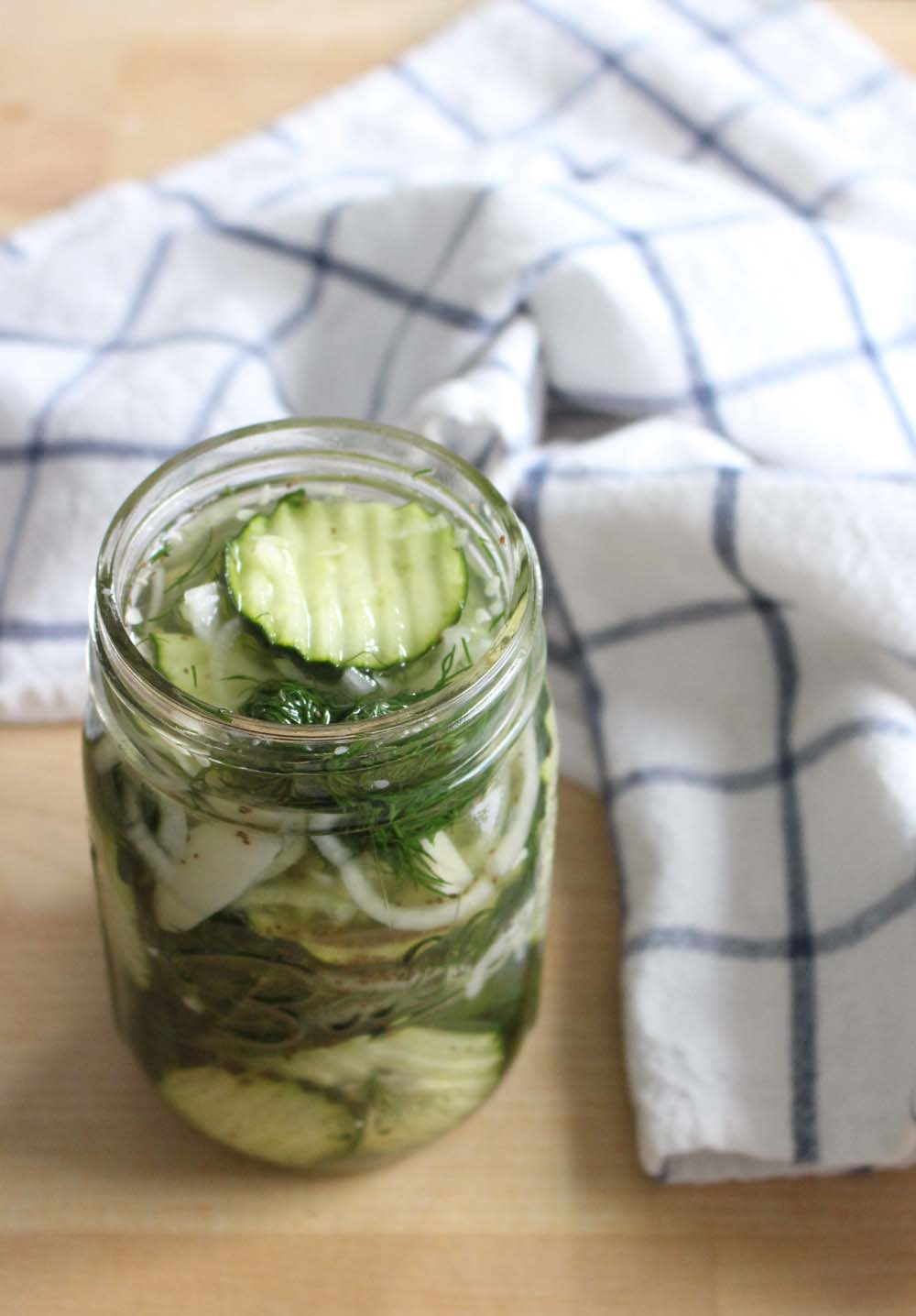 Tangy pickles