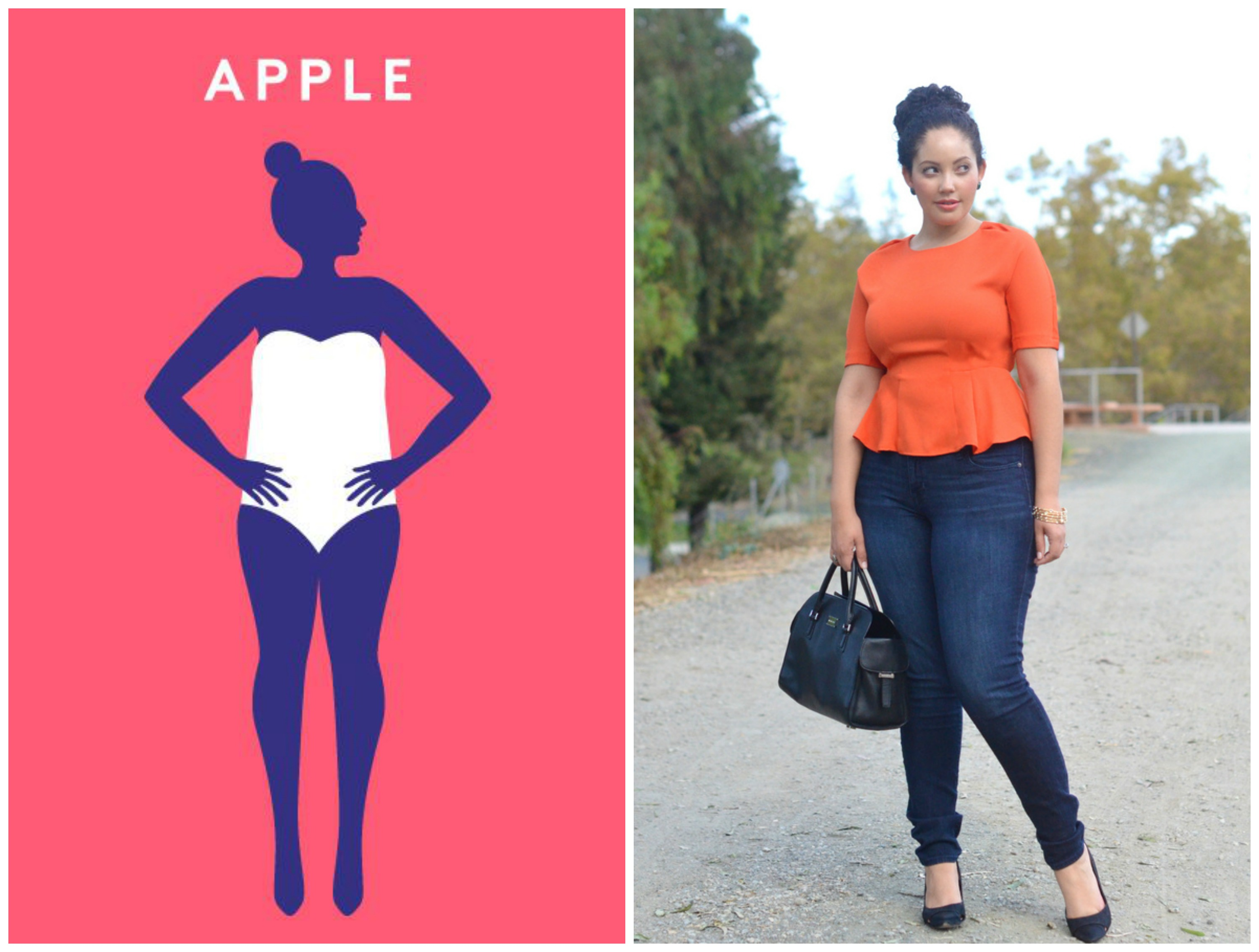 Apple-shaped Body