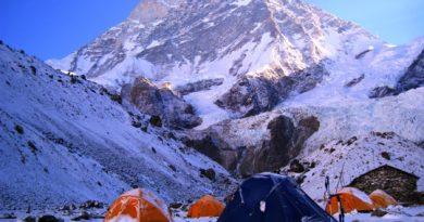 Base Camp Trek swon fall