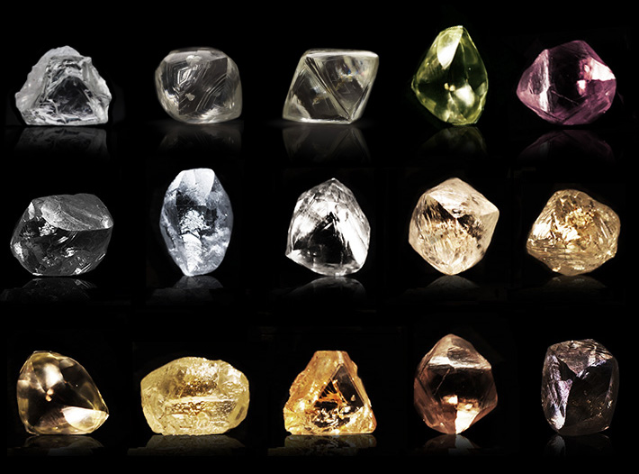 Rough Diamond Shapes