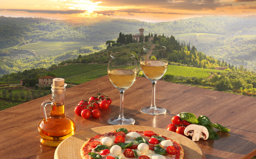 Italy – The Legacy for Wine and Food