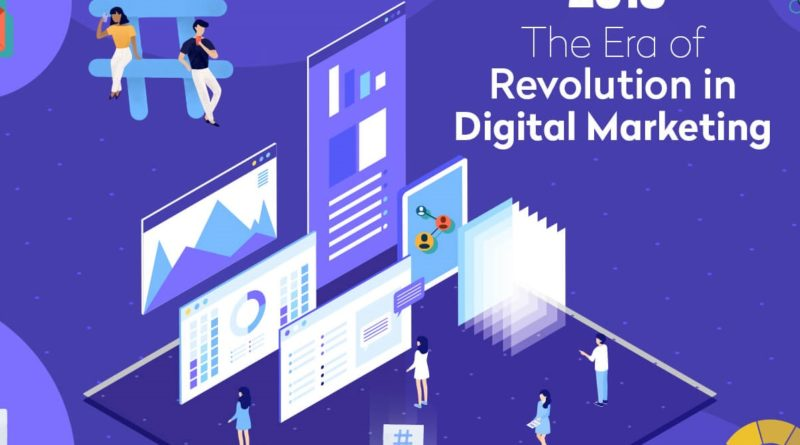 The Era of Revolution of Digital Marketing