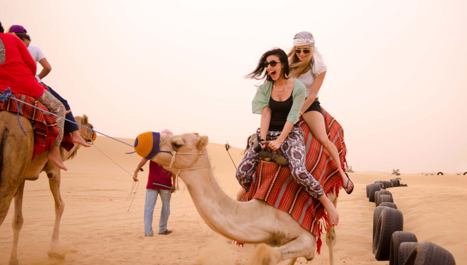 Fun in Desert Safaris in Dubai