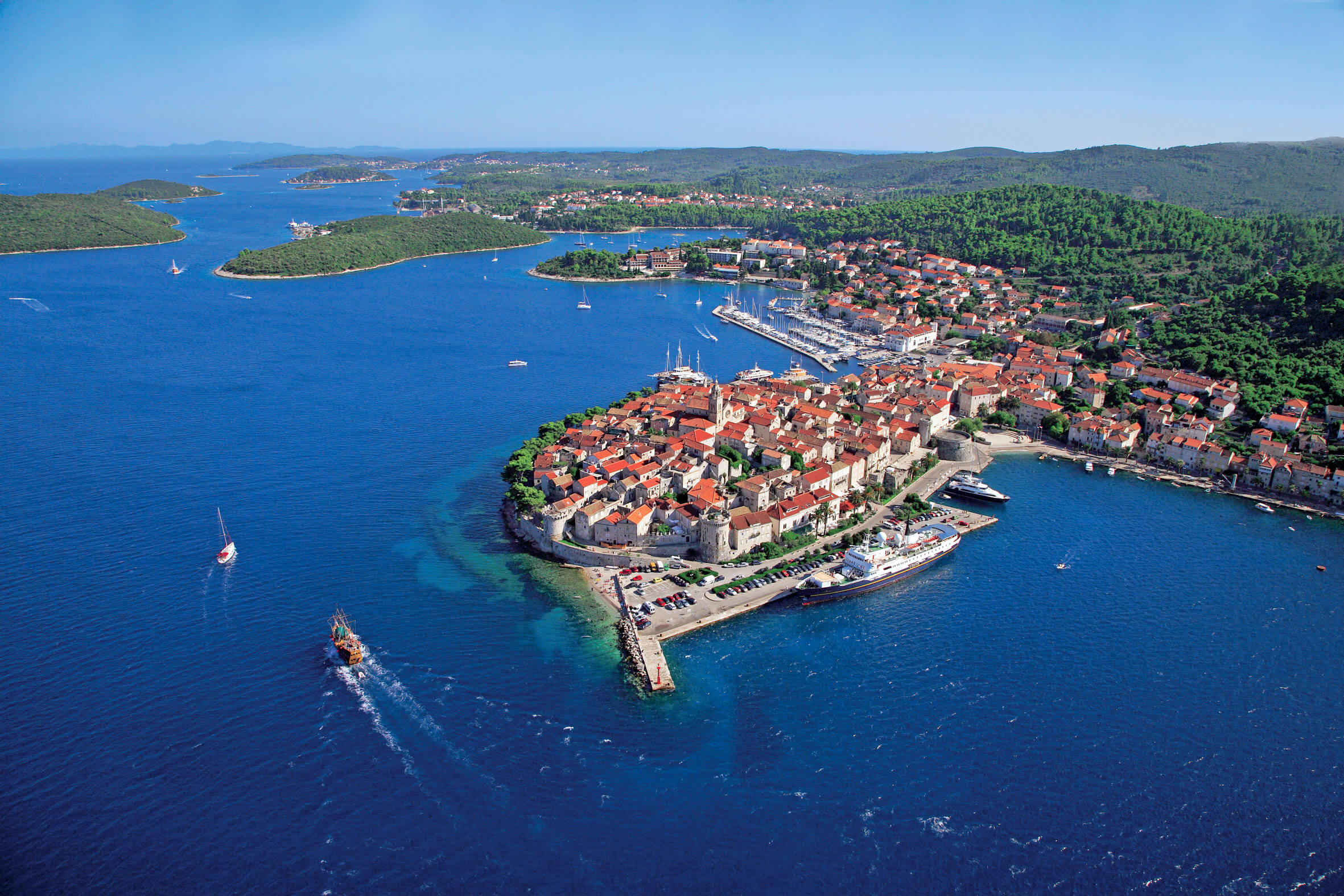 Korcula Island travel