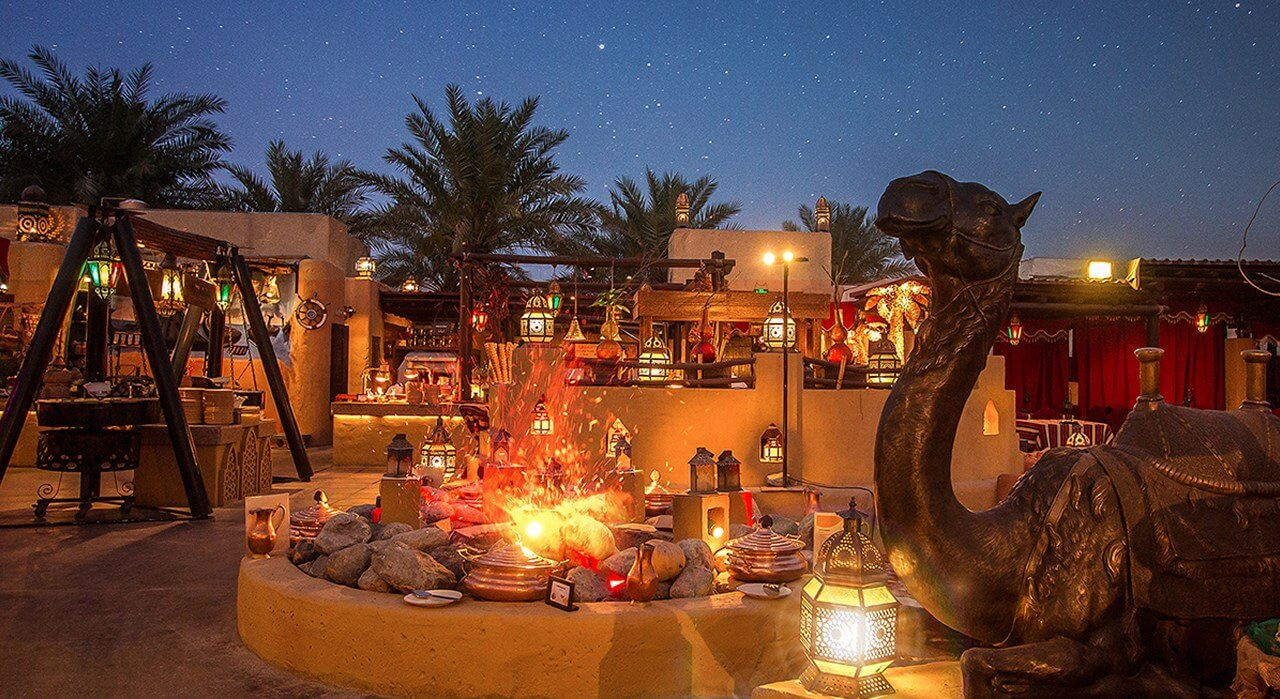 Overnight Desert Stay in dubai
