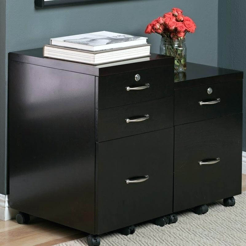 Vertical file cabinets