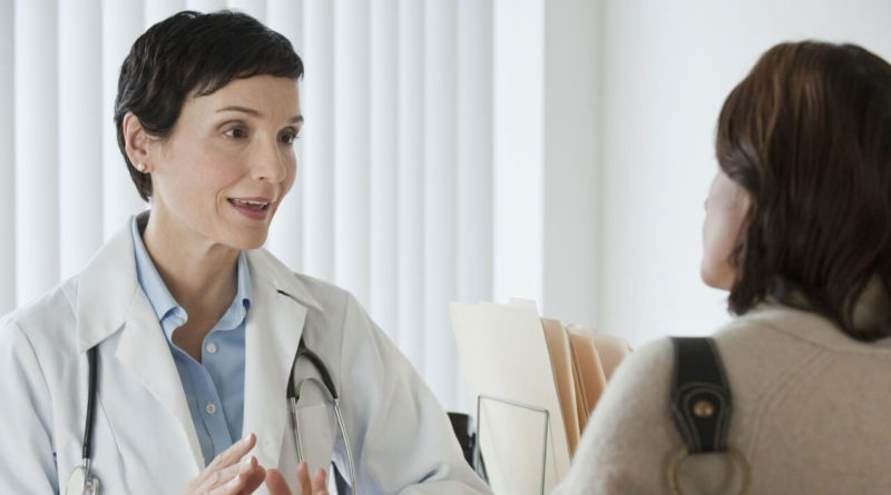 Yeast Infection with doctor