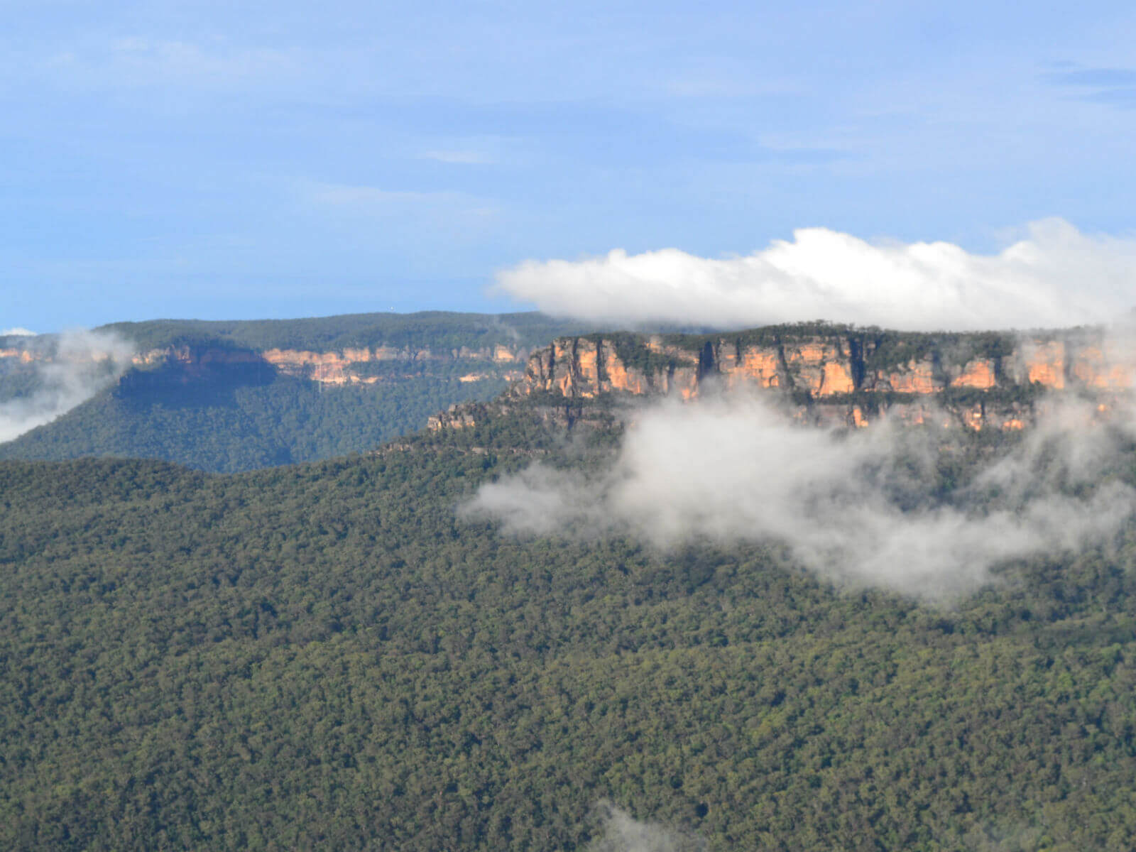 See the vistas of Blue Mountains