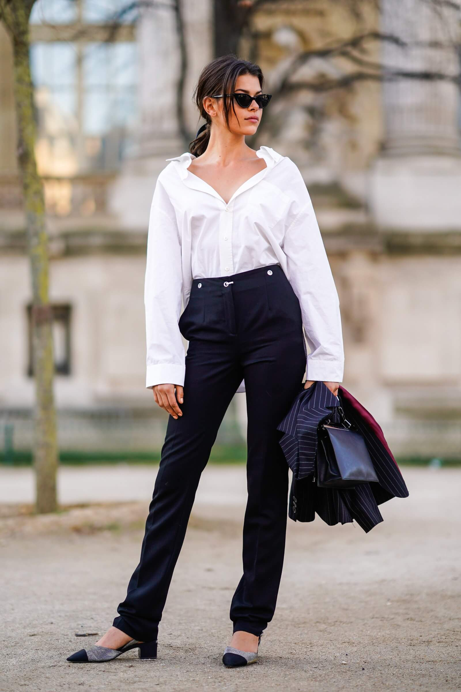 white shirt For casual outings