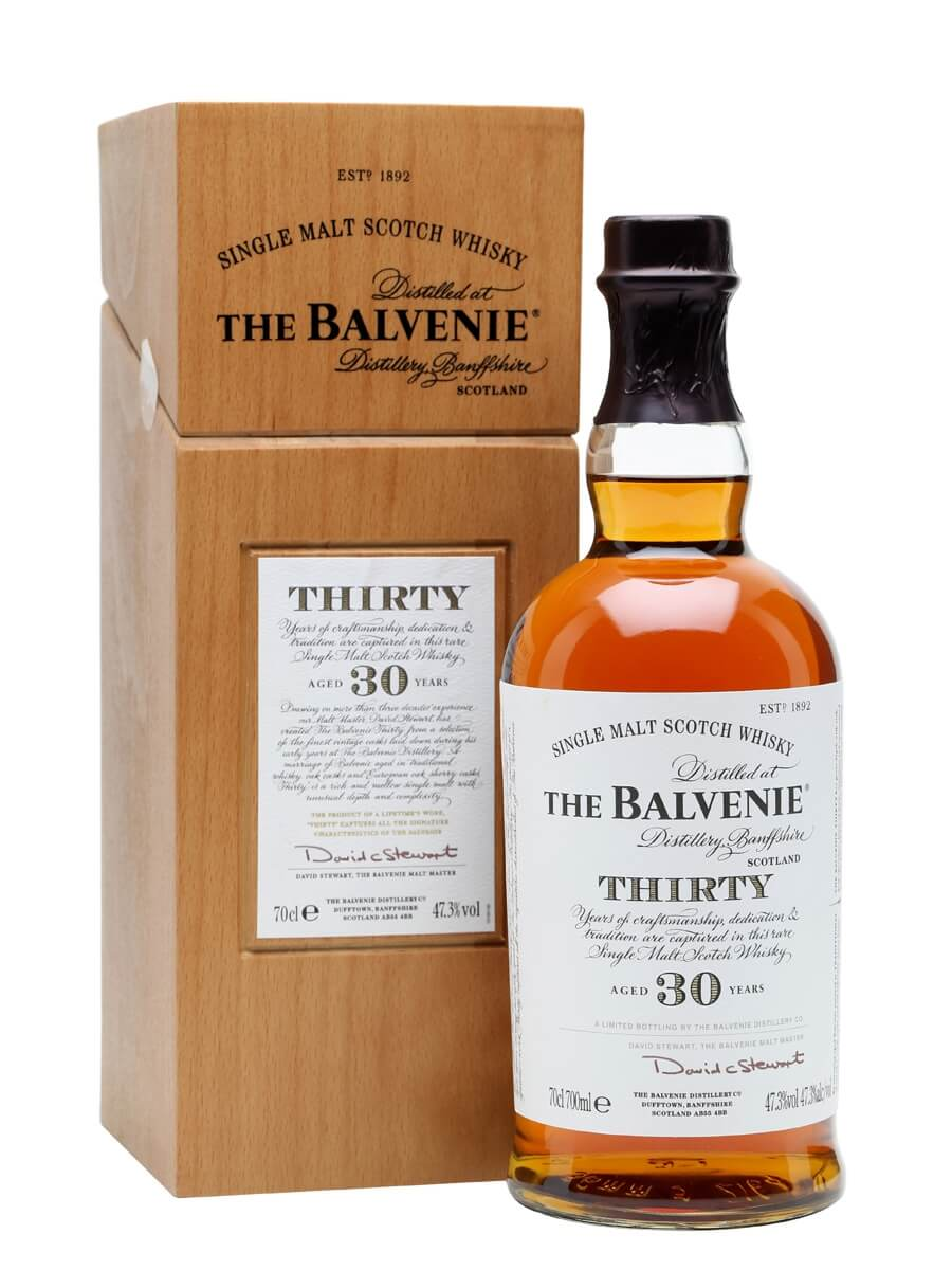 The Balvenie Single Malt 30-Year Whiskey