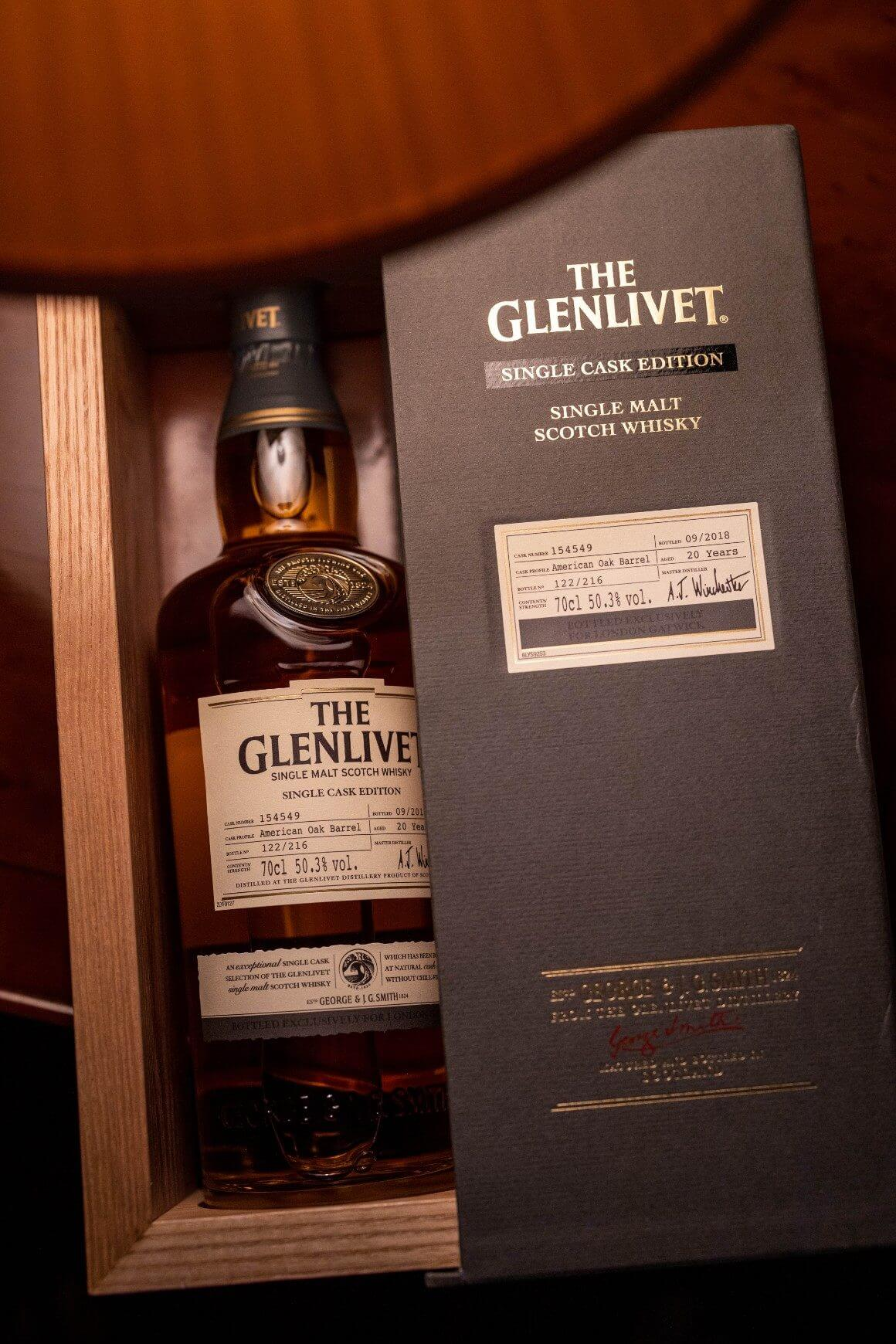 The Glenlivet Winchester Collection of Whiskeys