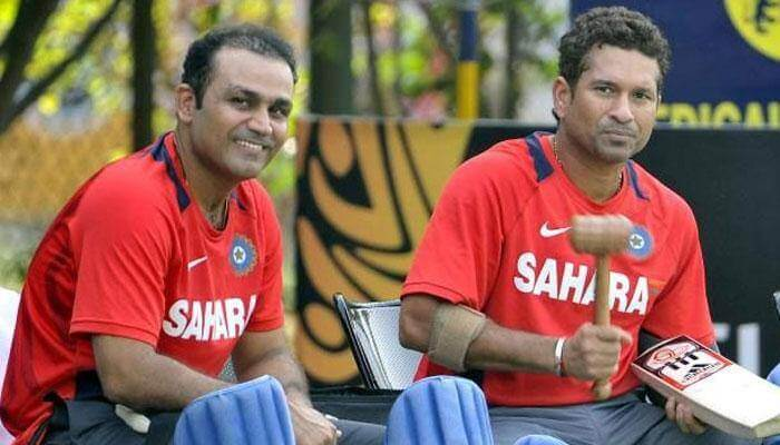 sehwag and sachin buy cricket bat