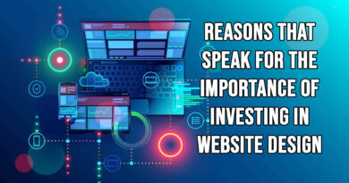 Reasons that speak for the importance of investing in Website Design