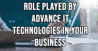 Role Played By Advance IT technologies in your business